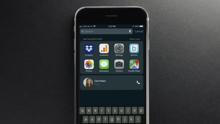 Come disattivare i suggerimenti Siri sul tuo iPhone