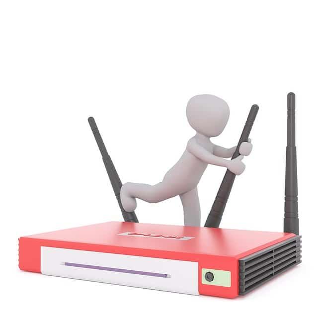 Riavviare un Router