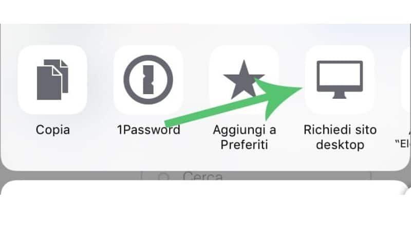 Come scaricare video su iPad, modalità Desktop