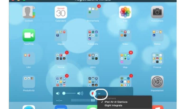 Come scaricare video su iPad, registrazione schermo
