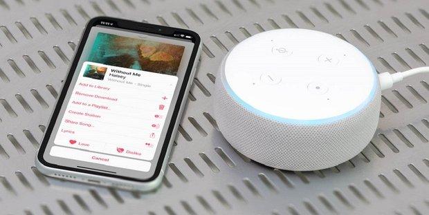 Apple Music su Alexa come cassa Bluetooth