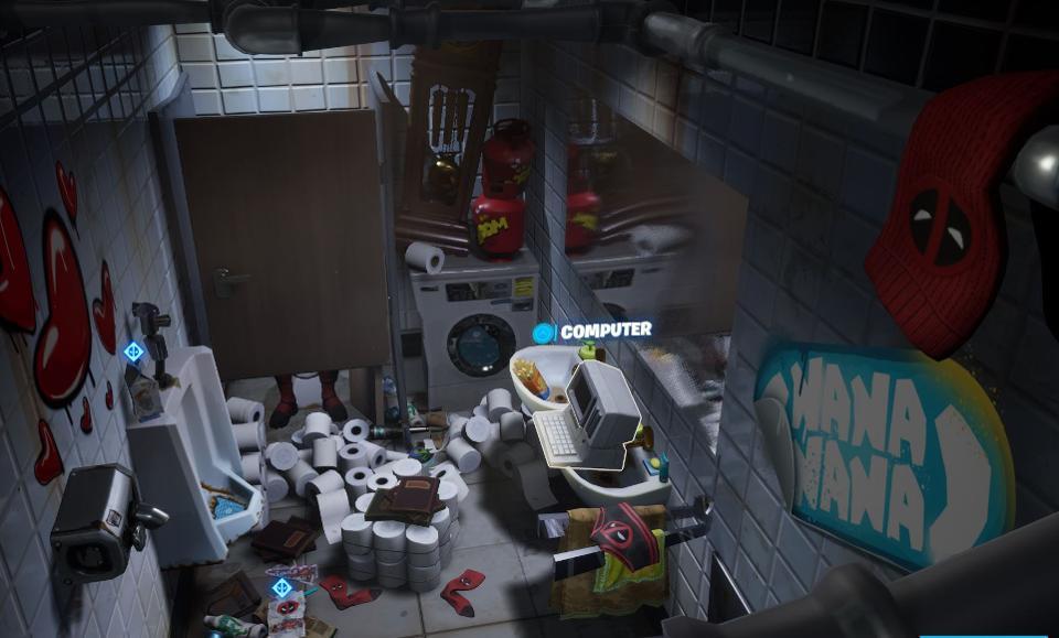 Fortnite: sfida Deadpool dove trovare il cartone del latte